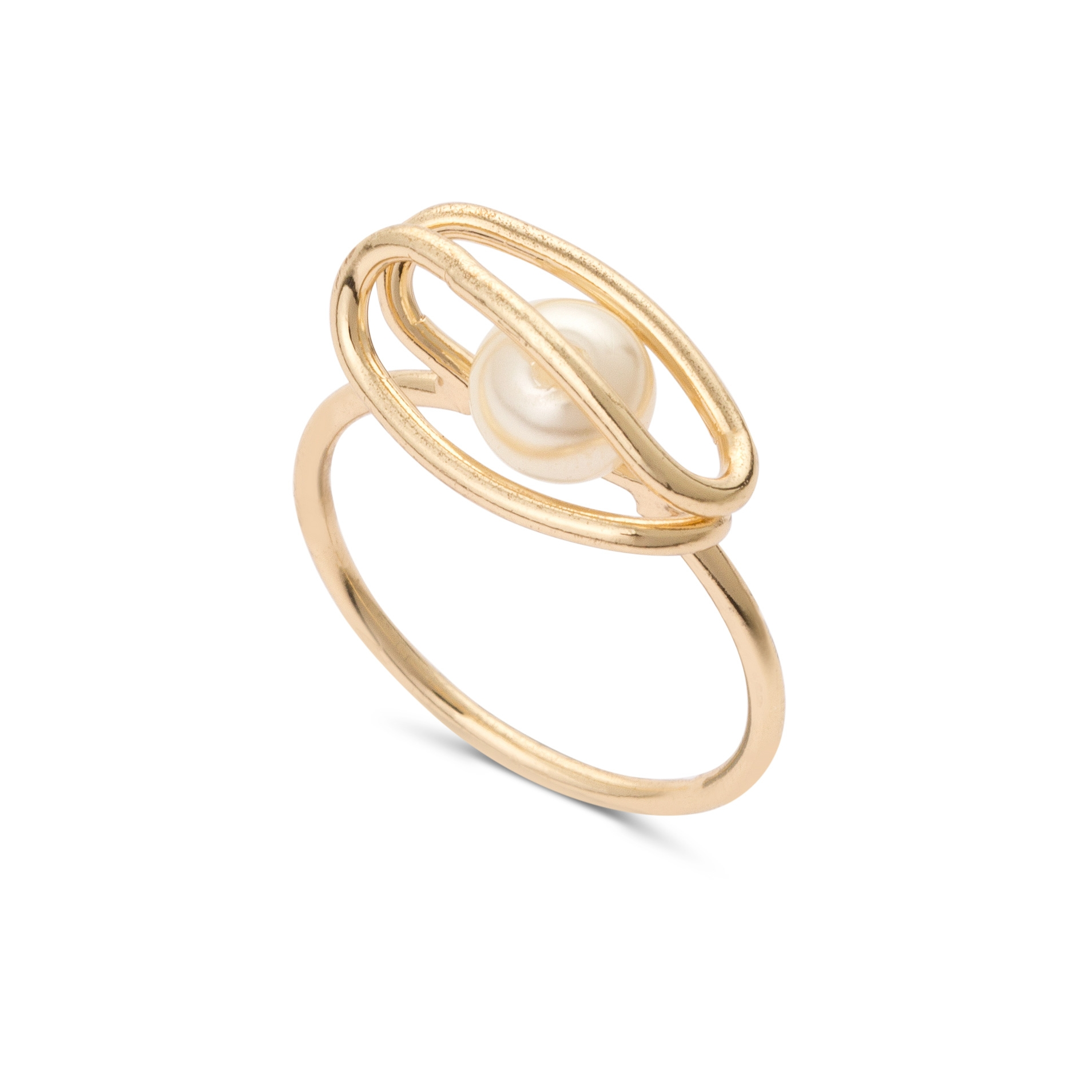 ring bonas rings rng oliver prl gold faux bm cage caged jewellery katalin