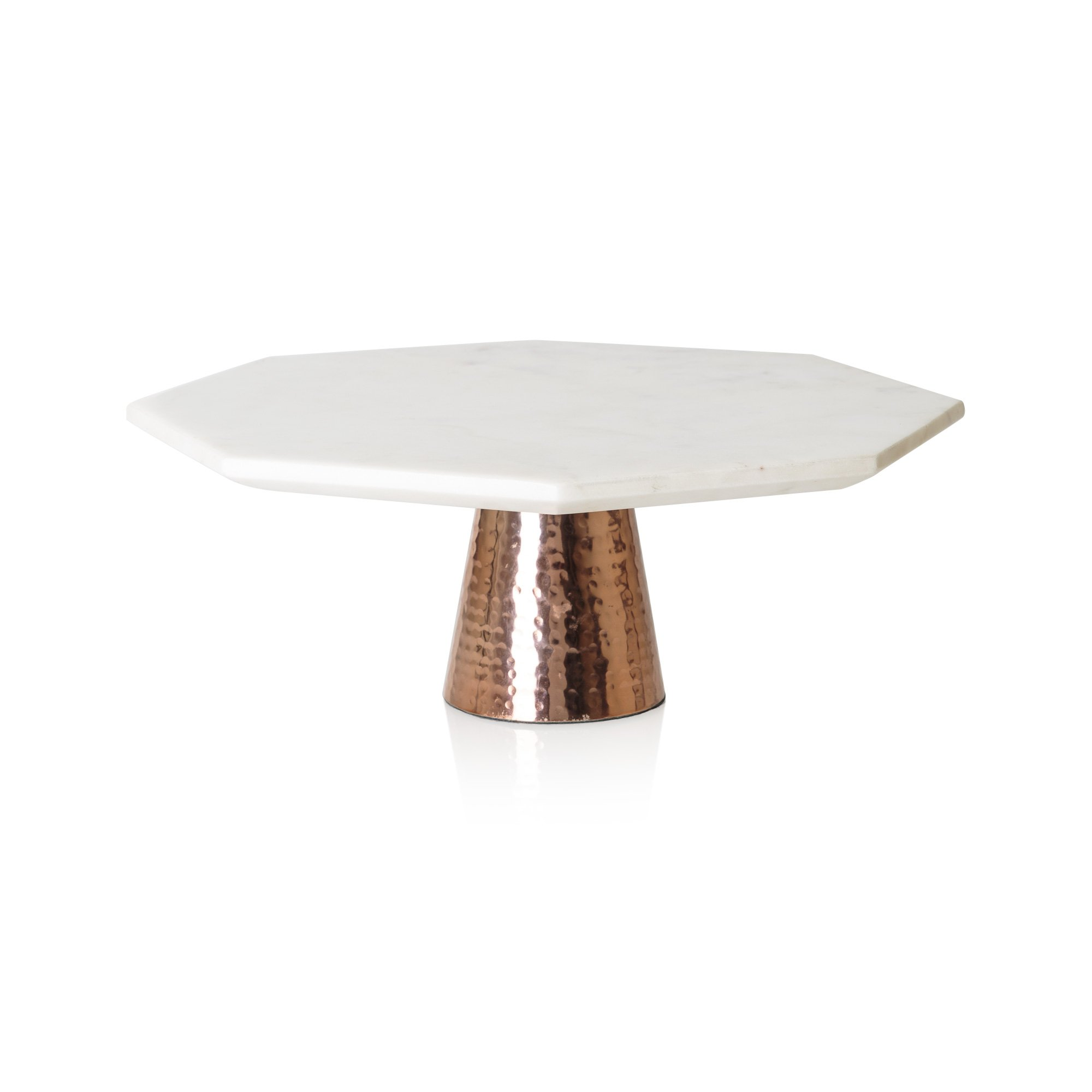 Copper Look Wedding Cake Stand