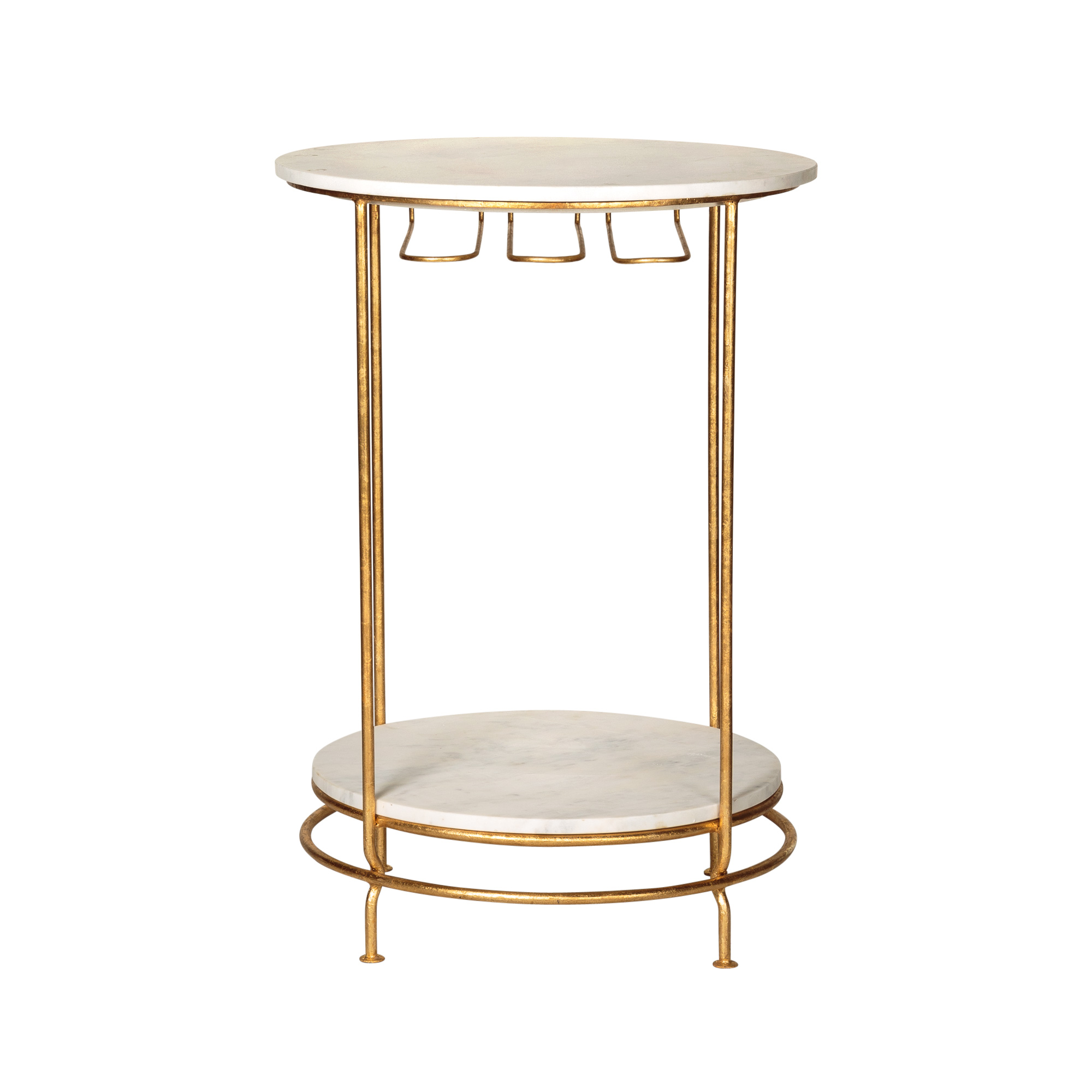 Gold Luxe Bar Table Oliver Bonas
