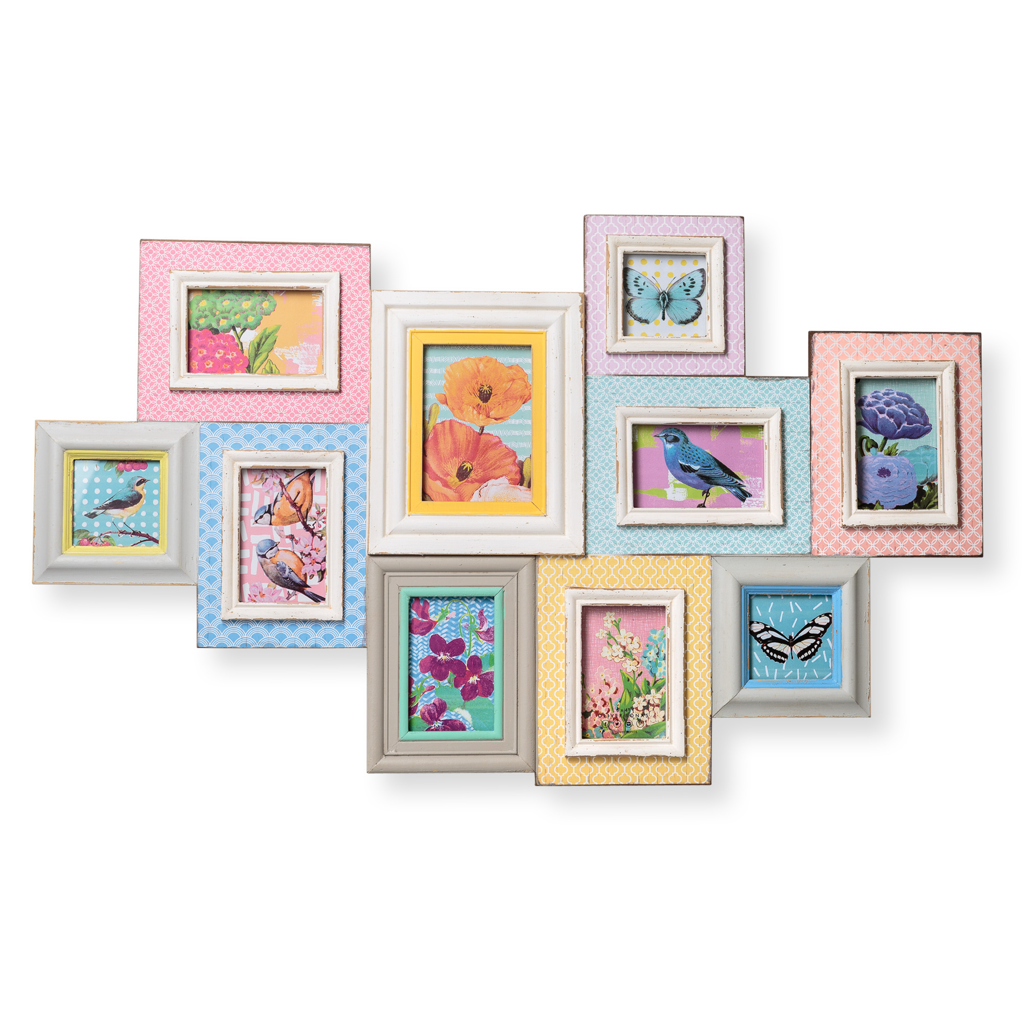 Colorful Pastel Picture Frames Gallery - Picture Frame Ideas ...