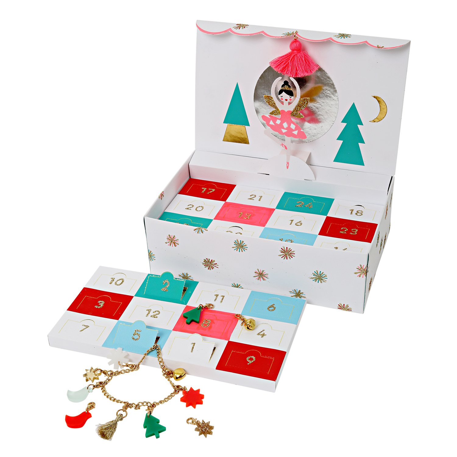 nutcracker jewellery advent calendar gifts for her
