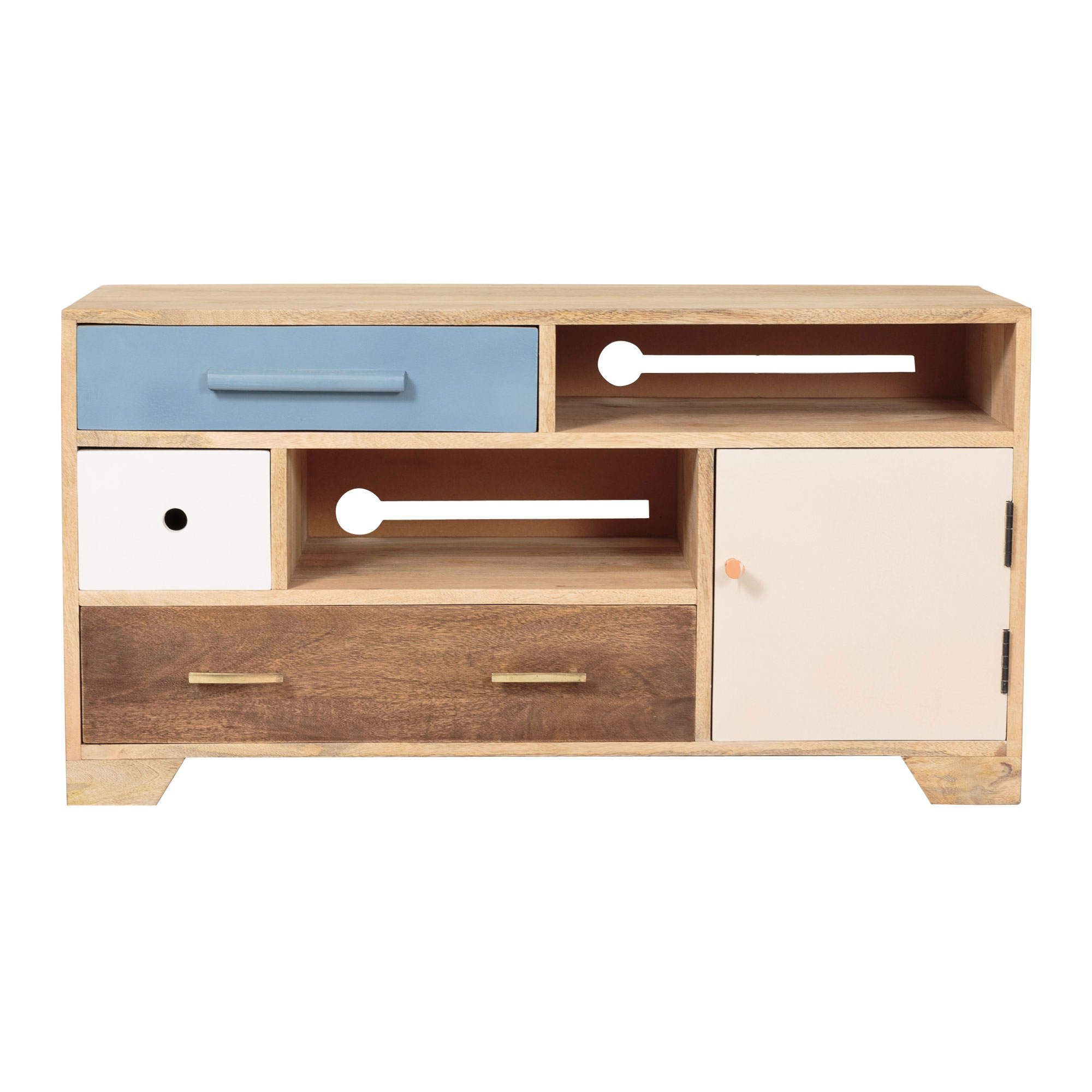 Jennifer Wooden TV Cabinet Oliver Bonas