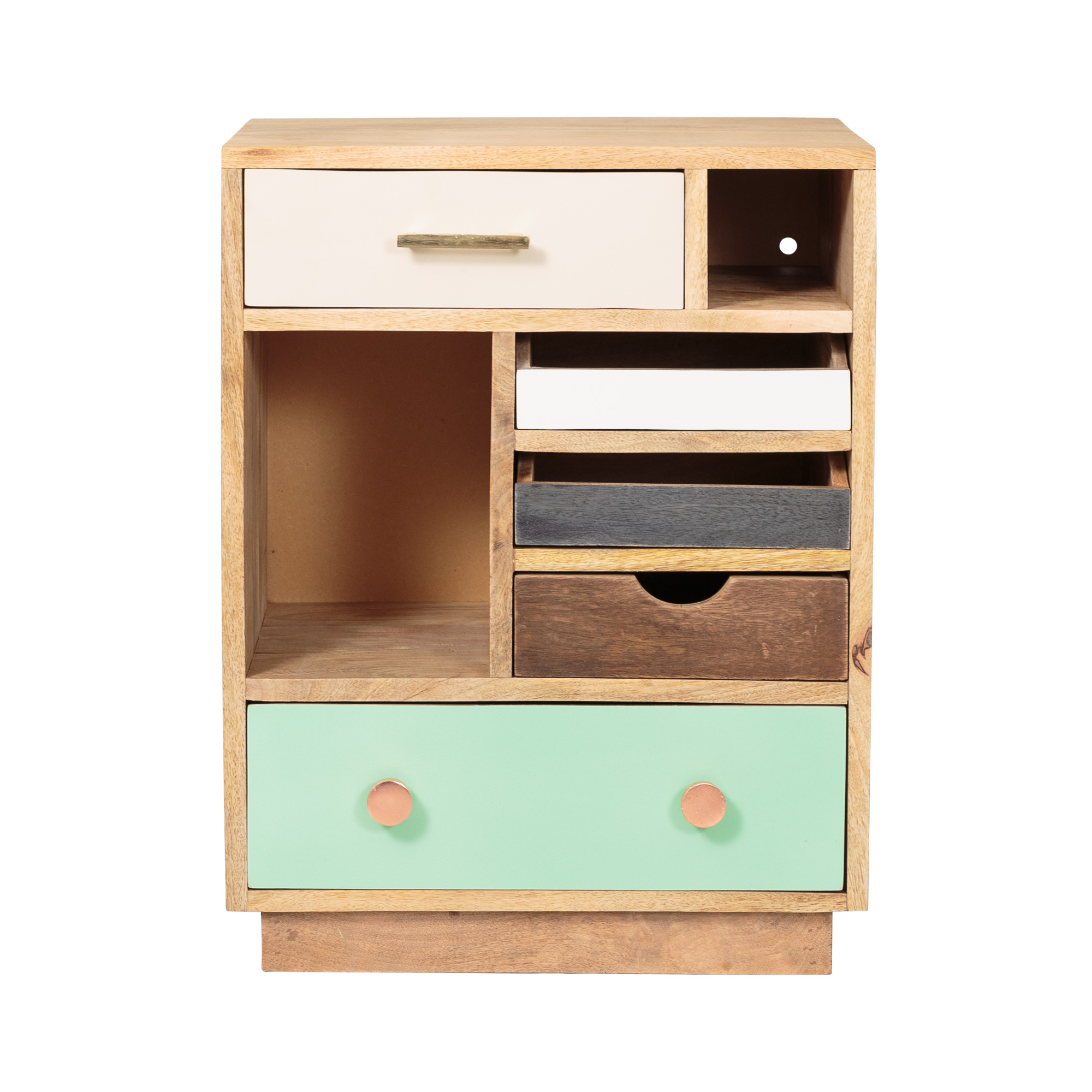 halle wooden bedside cabinet right oliver bonas