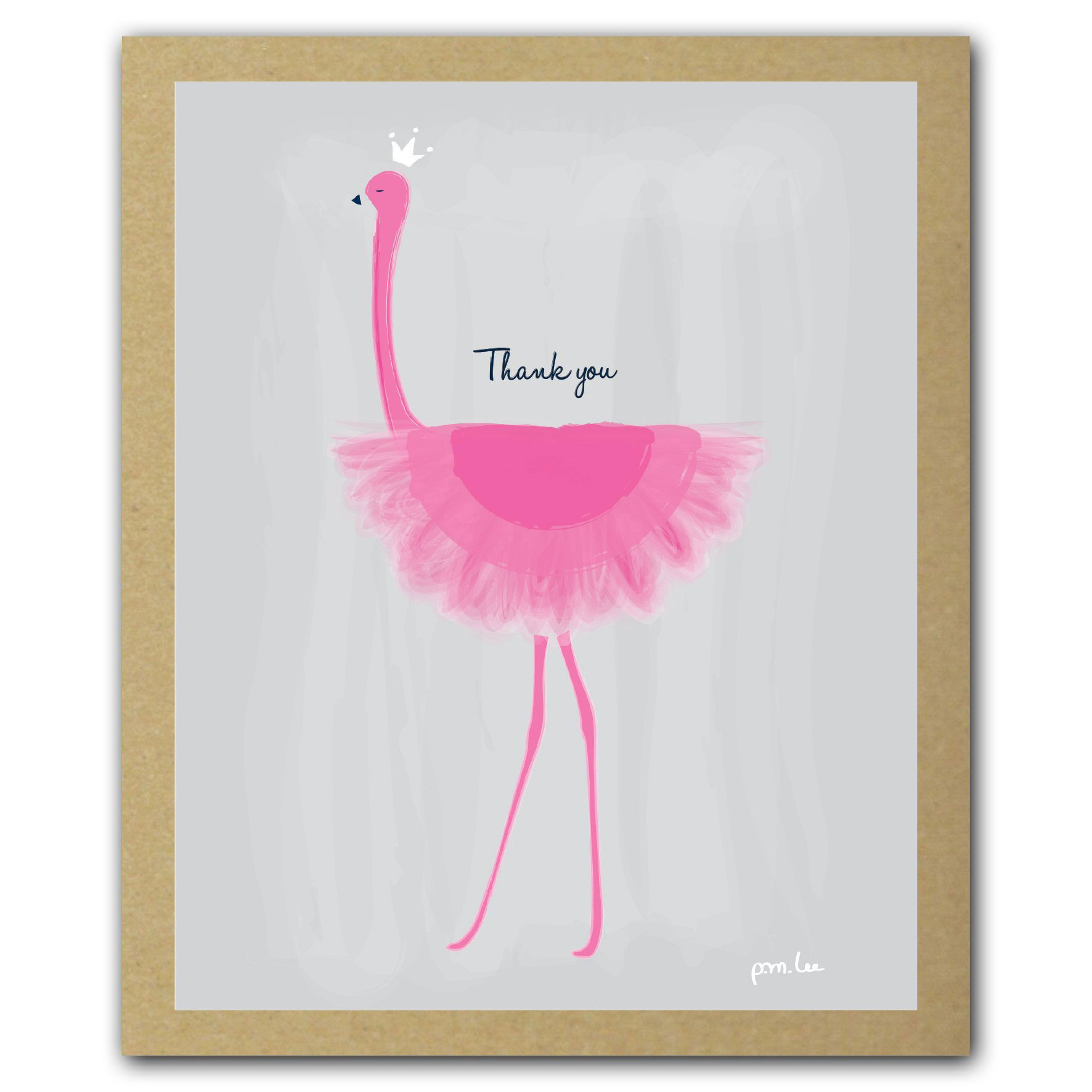 Greatest Flamingo Thank You Notes | Thank You Gifts | Oliver Bonas GL21
