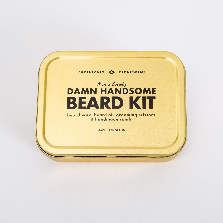 damn handsome beard kit father 39 s day oliver bonas. Black Bedroom Furniture Sets. Home Design Ideas
