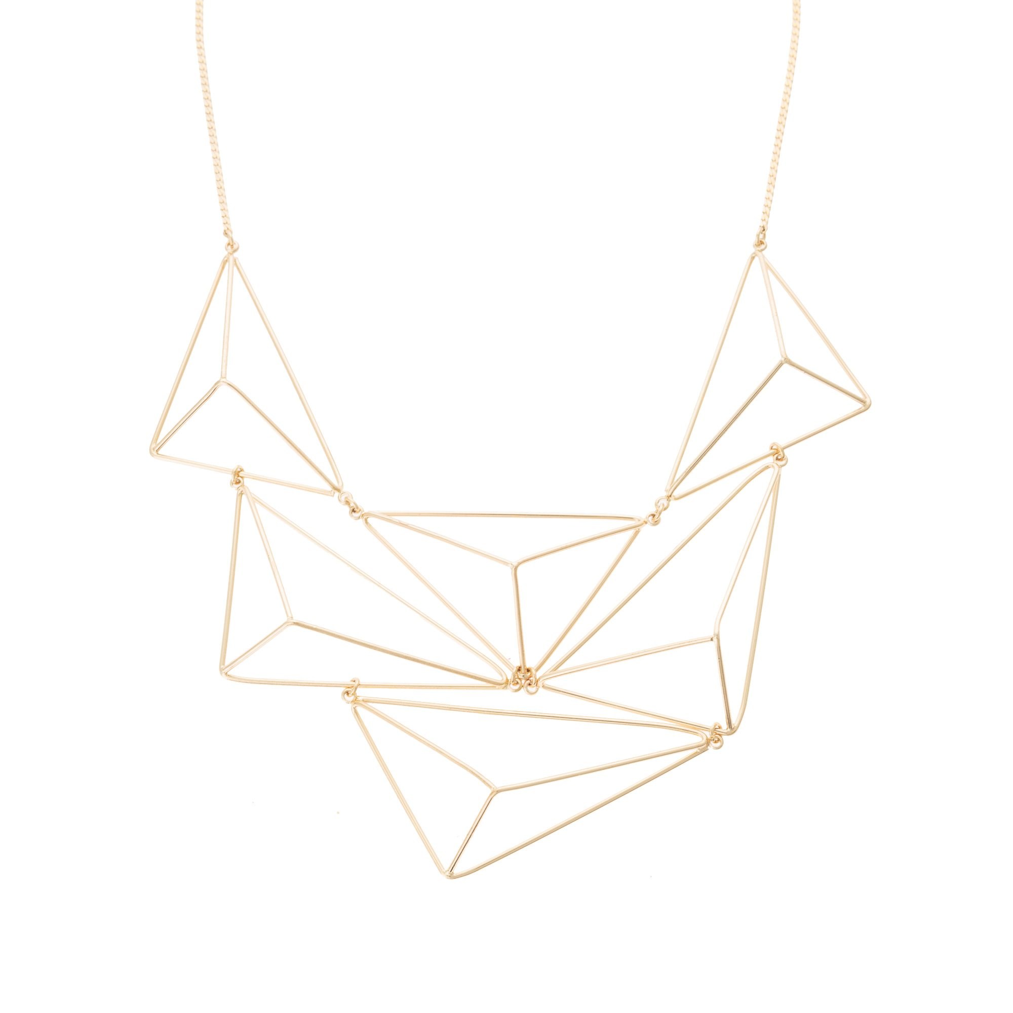 grey triangular jewellery marcie bonas oliver pendant stone necklace