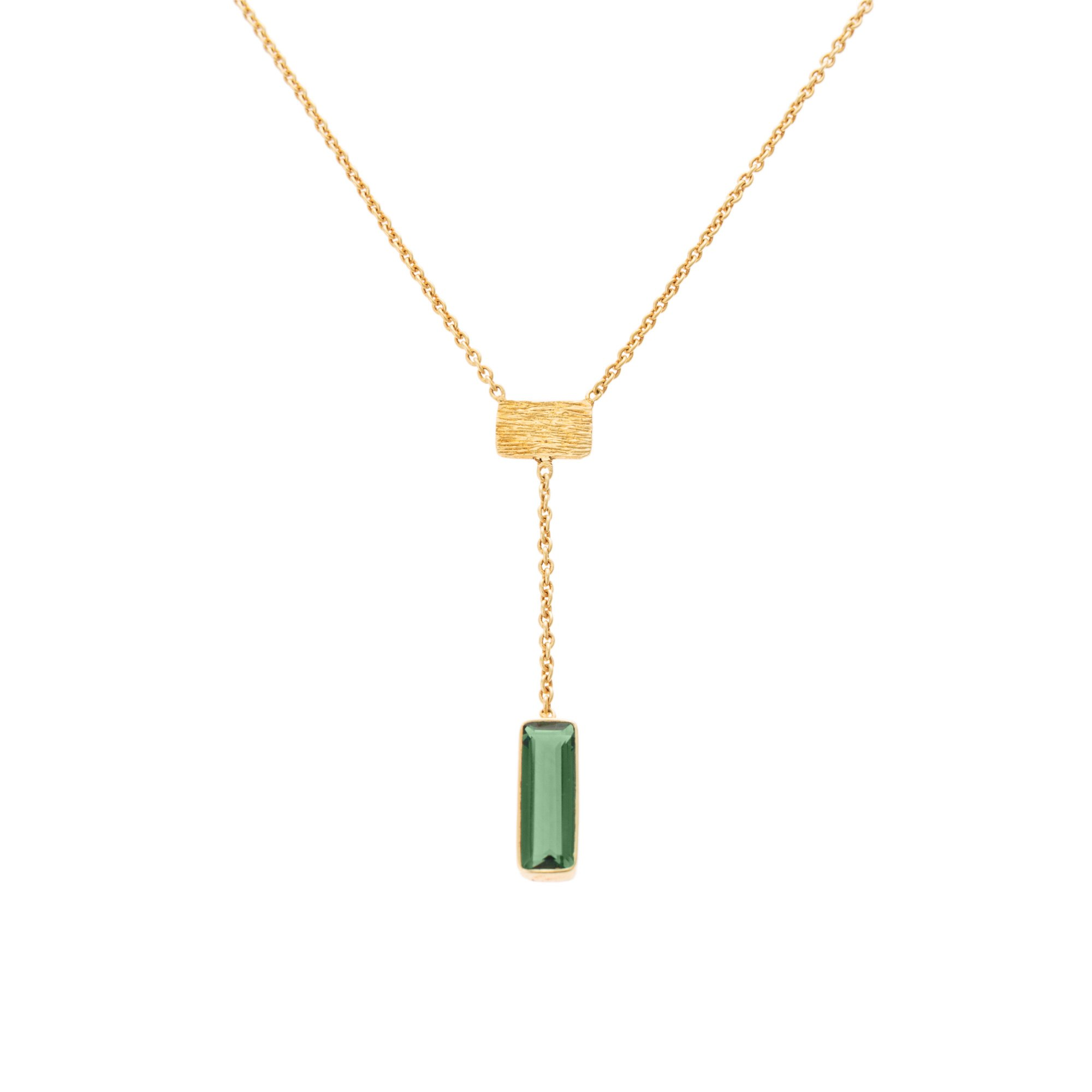 diamond emerald diamonds necklace stone pendant round valla white gold