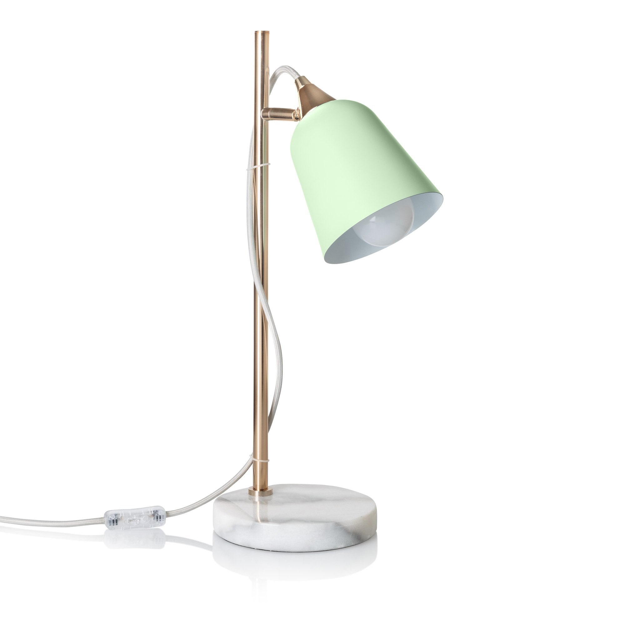 Sage table lamp with marble base oliver bonas geotapseo Gallery