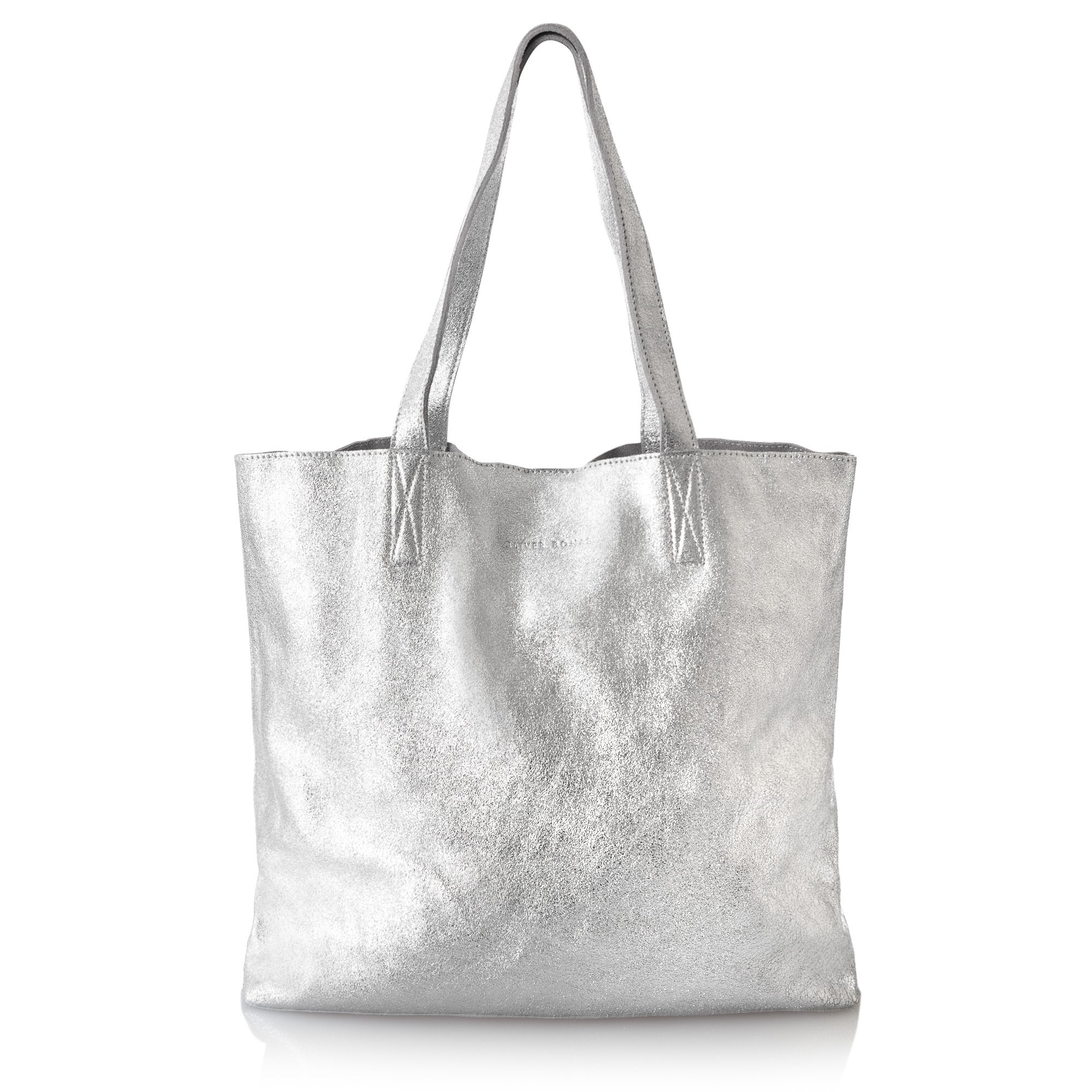Silver leather tote bag uk - Silver Leather Tote Bag Uk 0