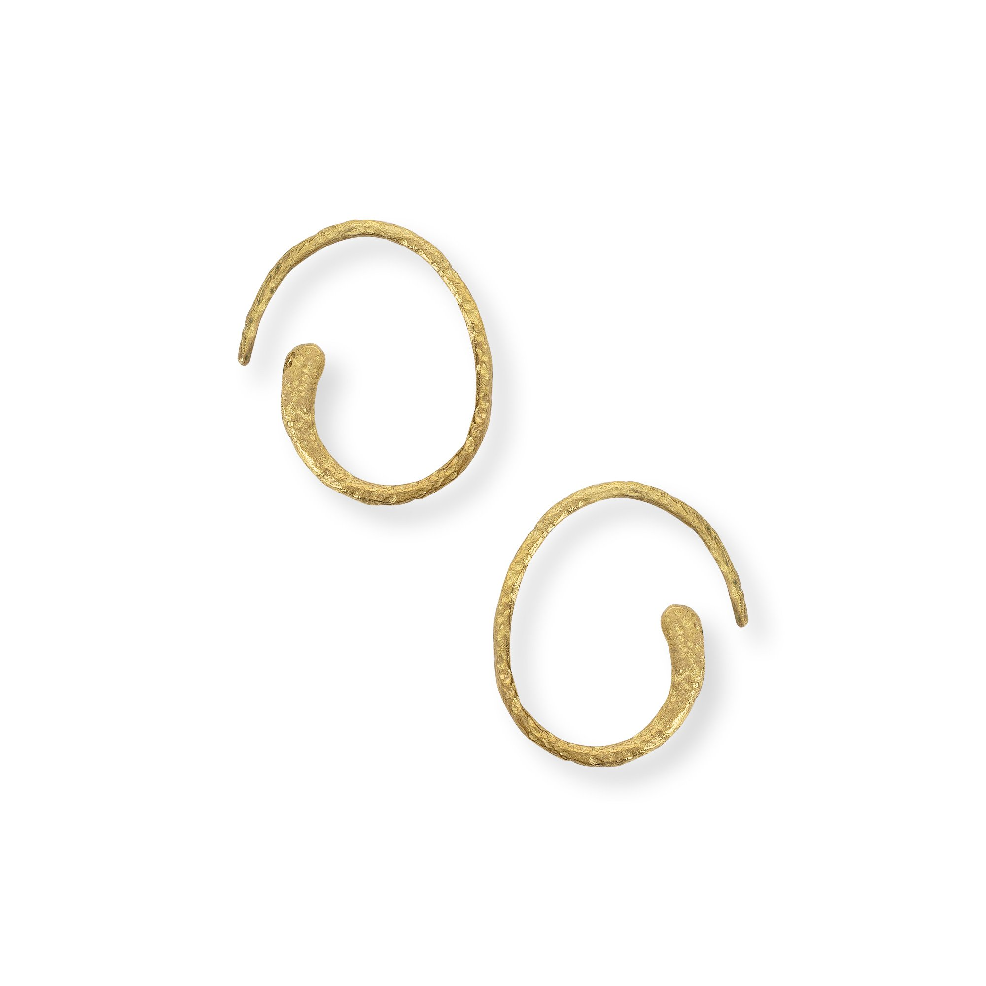 hoop gold jewellery yellow simply diamond com ip cut earrings walmart