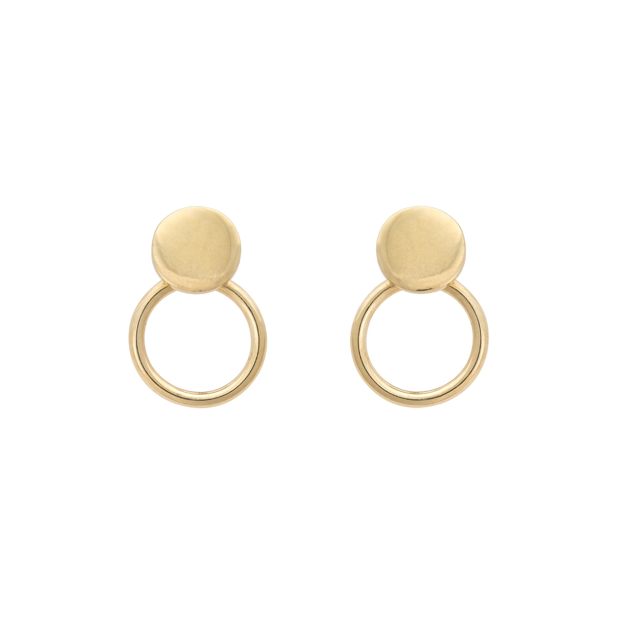 single earring stud earrings nichol open products wendy collections circle