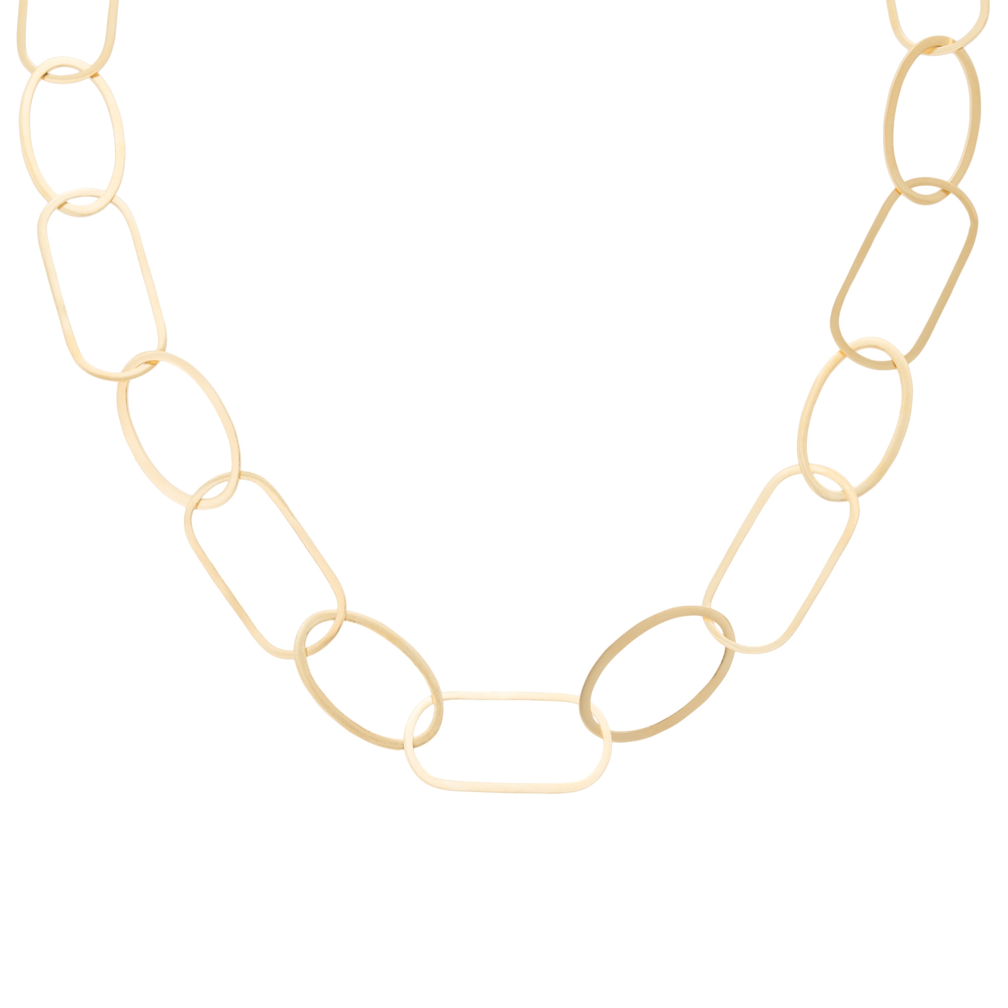 necklace metallic in link aerin gold chain jewelry beamon product erickson lyst