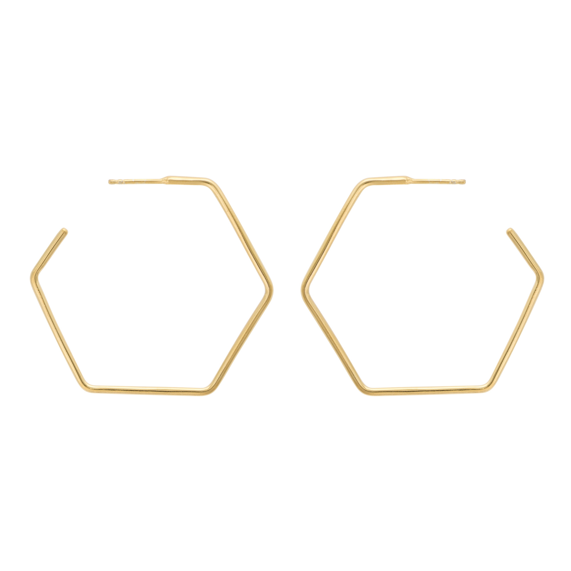 mint co hexagon jewelry oblong earrings img products
