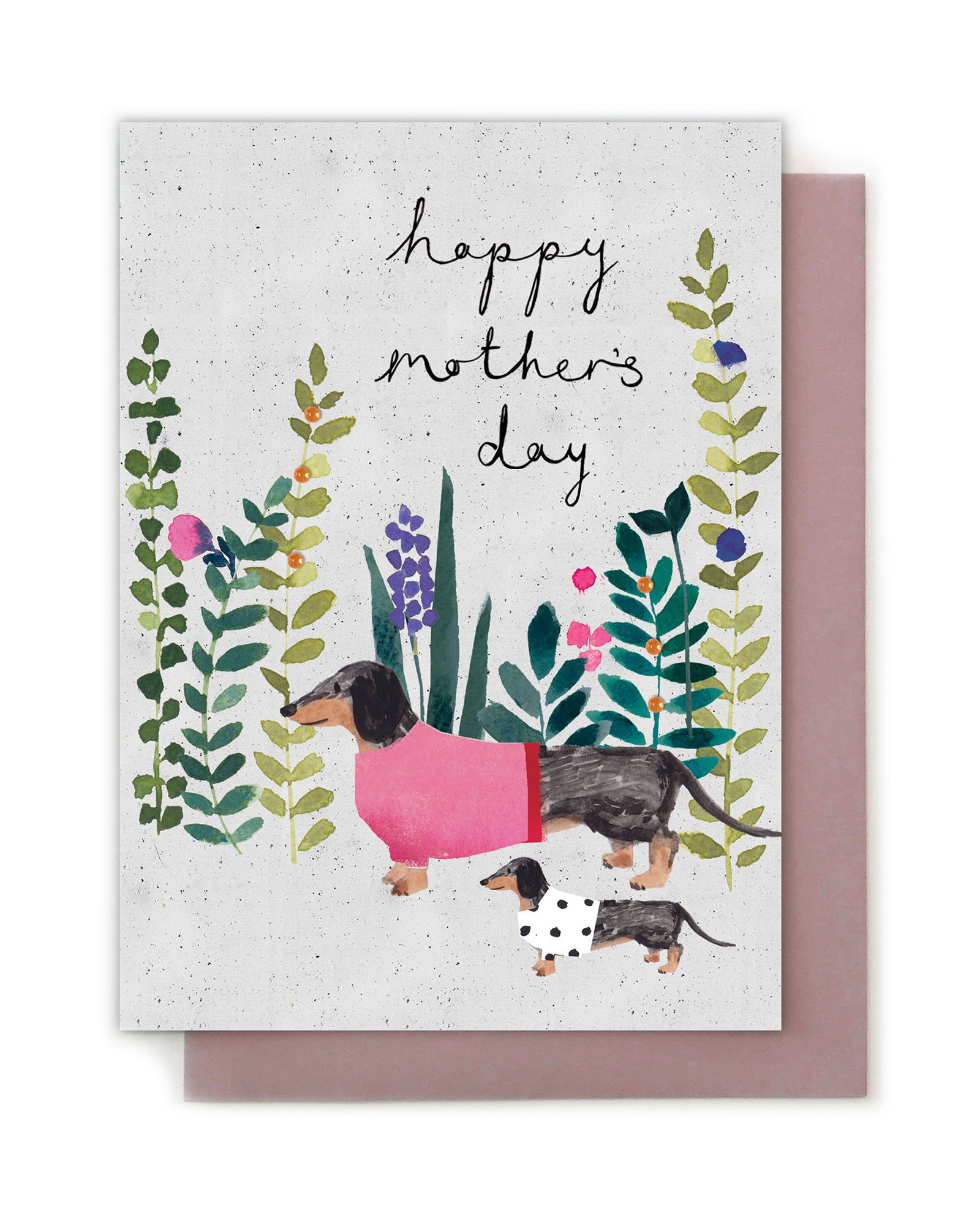 Hy Mother S Day Sausage Dog Card