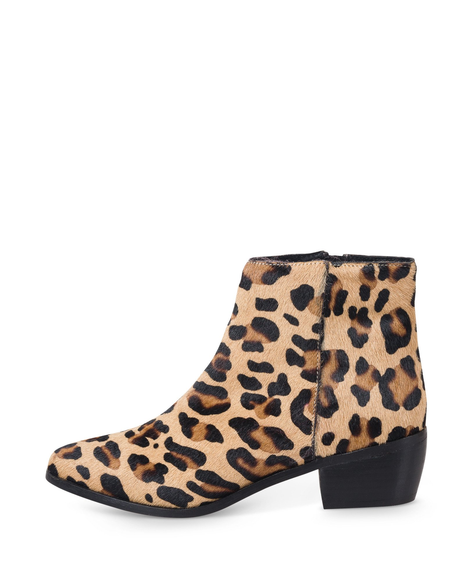 All Over Leopard Print Textured Leather