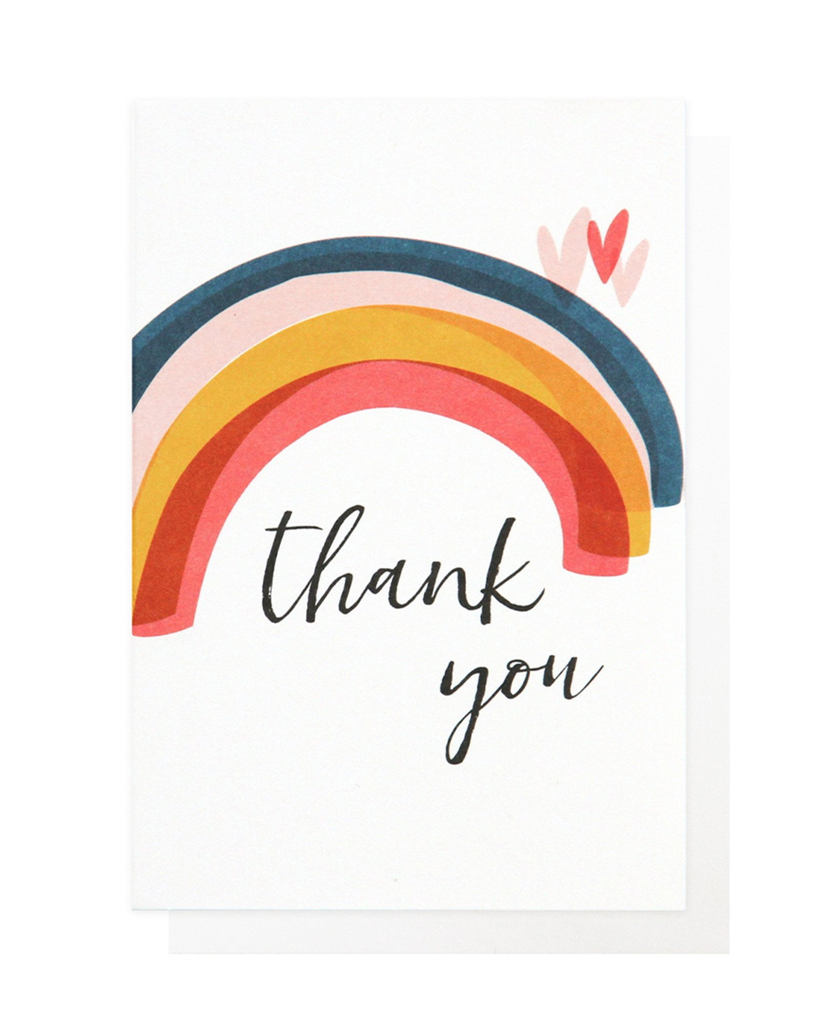 Thank You Rainbow Thank You Card Pack of Ten | Oliver Bonas