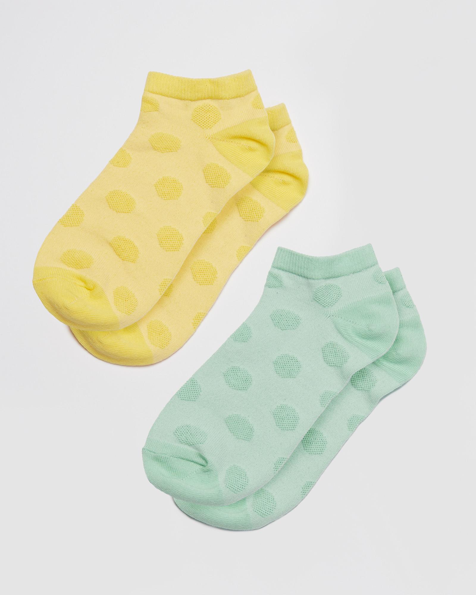 3 PACK Size: 4-7 Hearts Design Trainer Socks