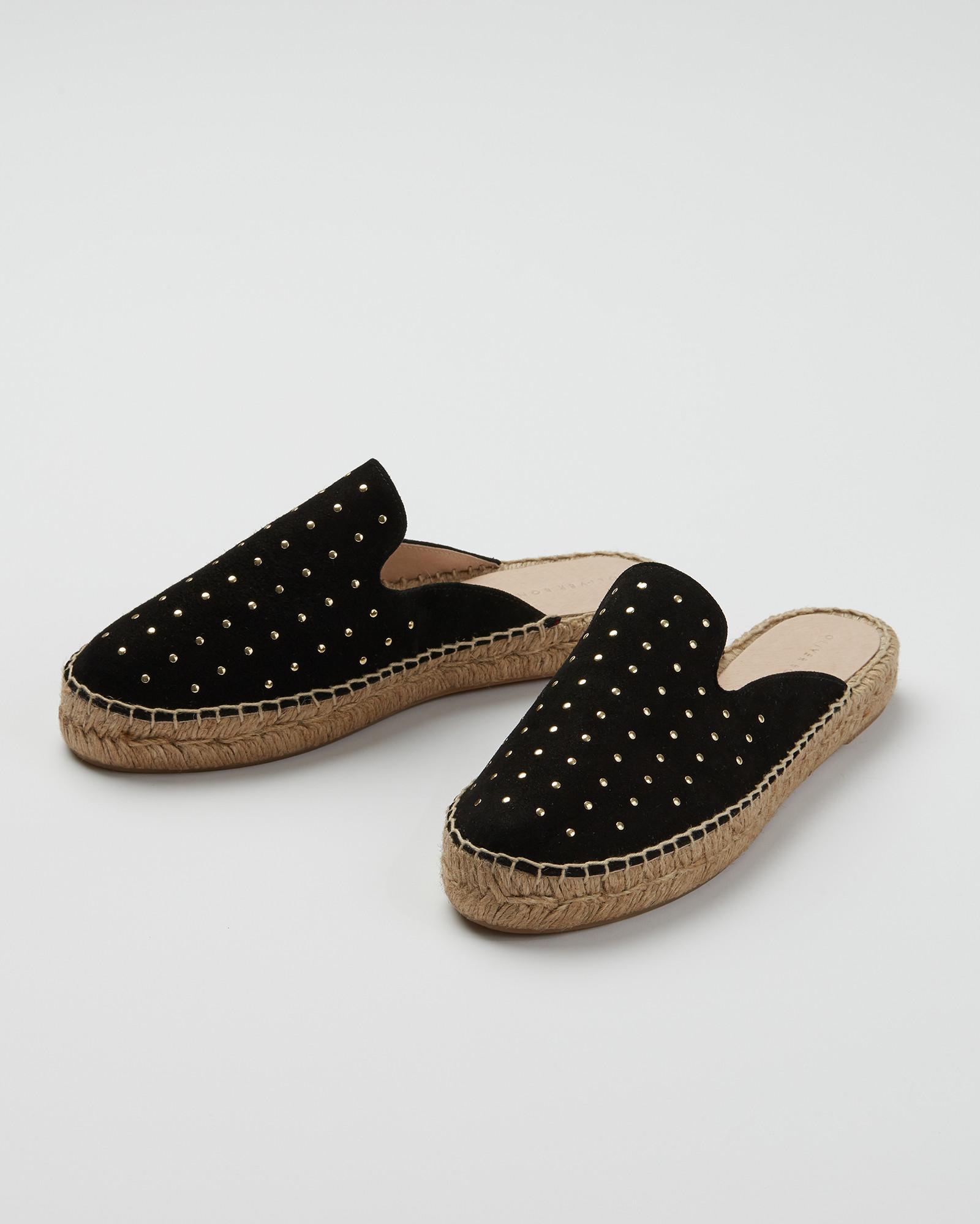 Black Espadrille Sandals | Oliver Bonas