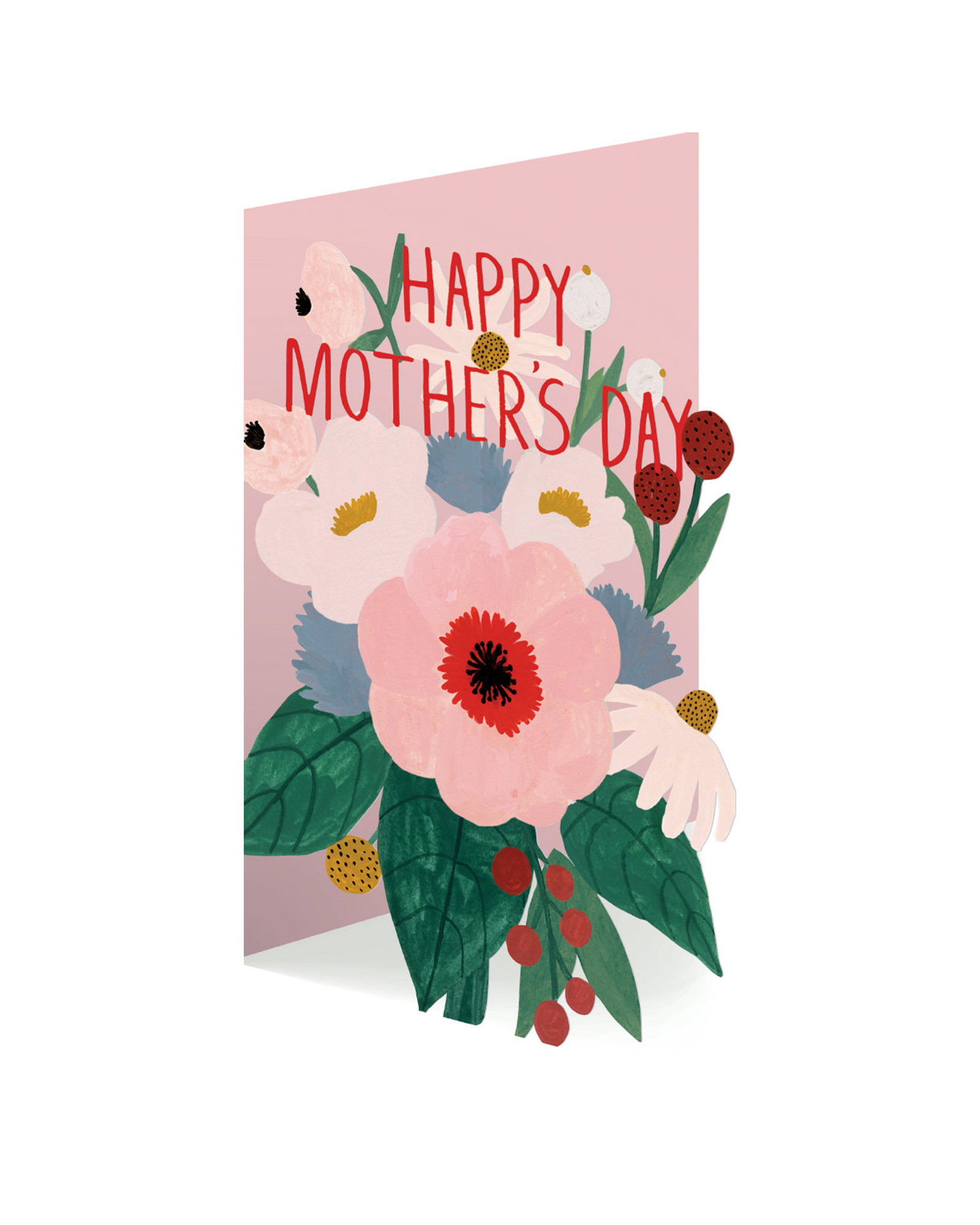 Happy Mother/'s Day cut-out card
