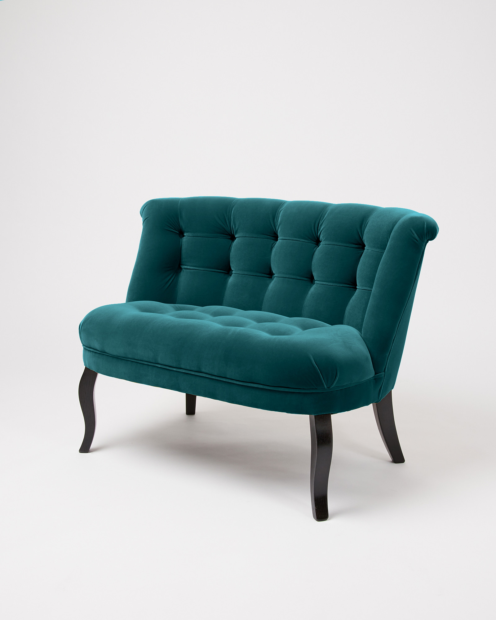Velvet Ocean Blue Loveseat