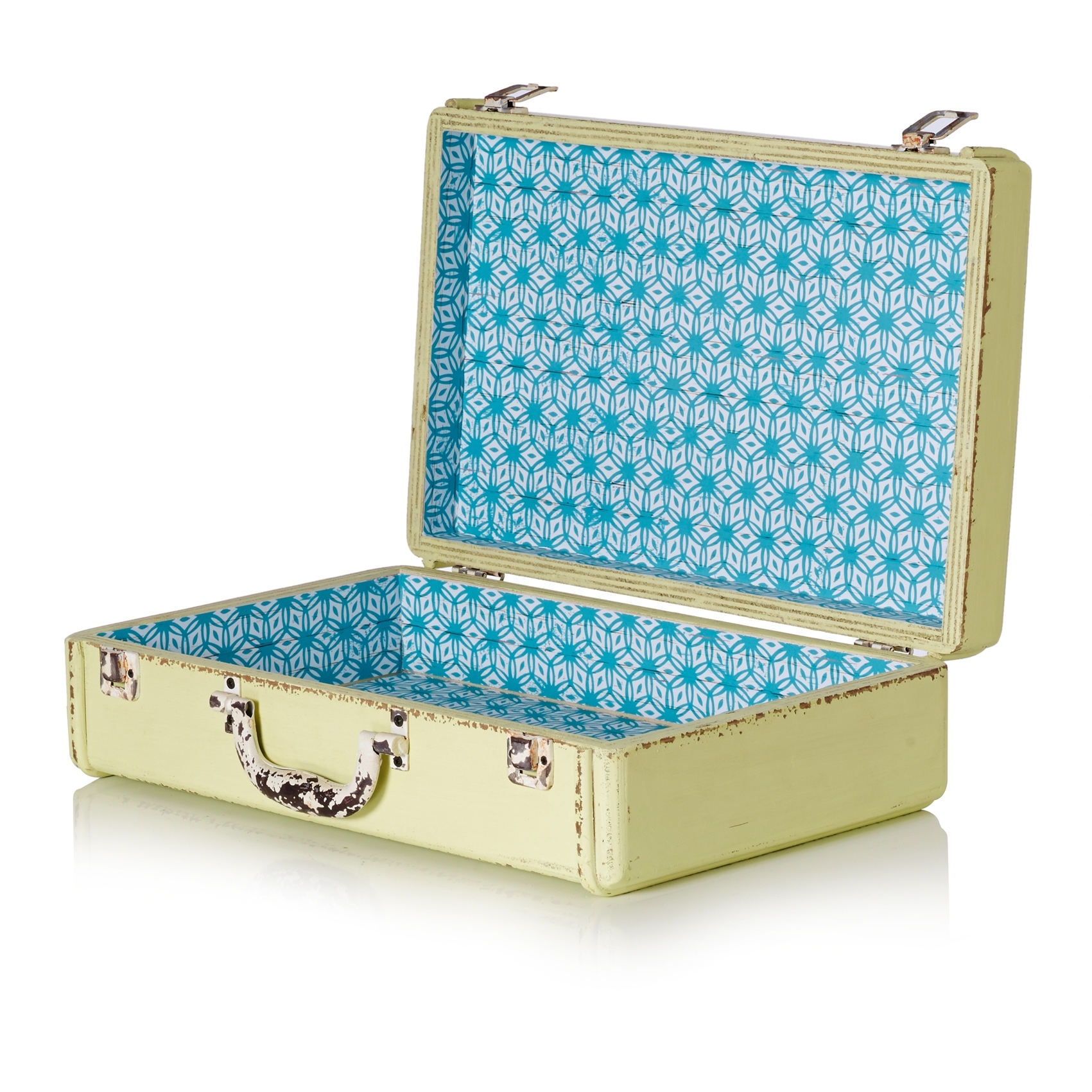 Extra Small Sorbet Decorative Storage Suitcase - All - Oliver Bonas