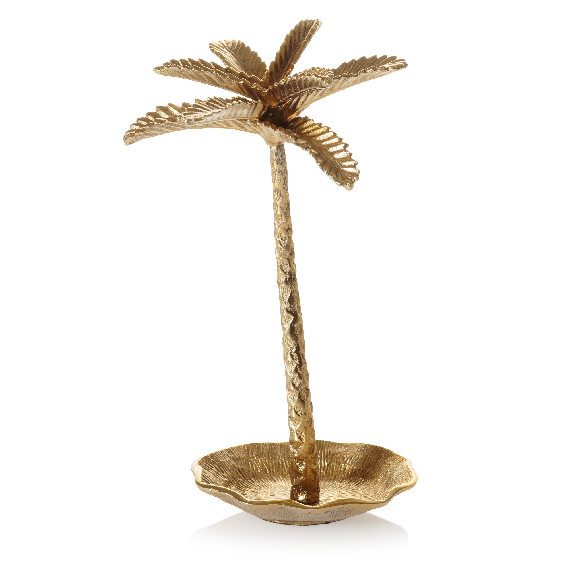 Copper Palm Tree Jewellery Stand Oliver Bonas