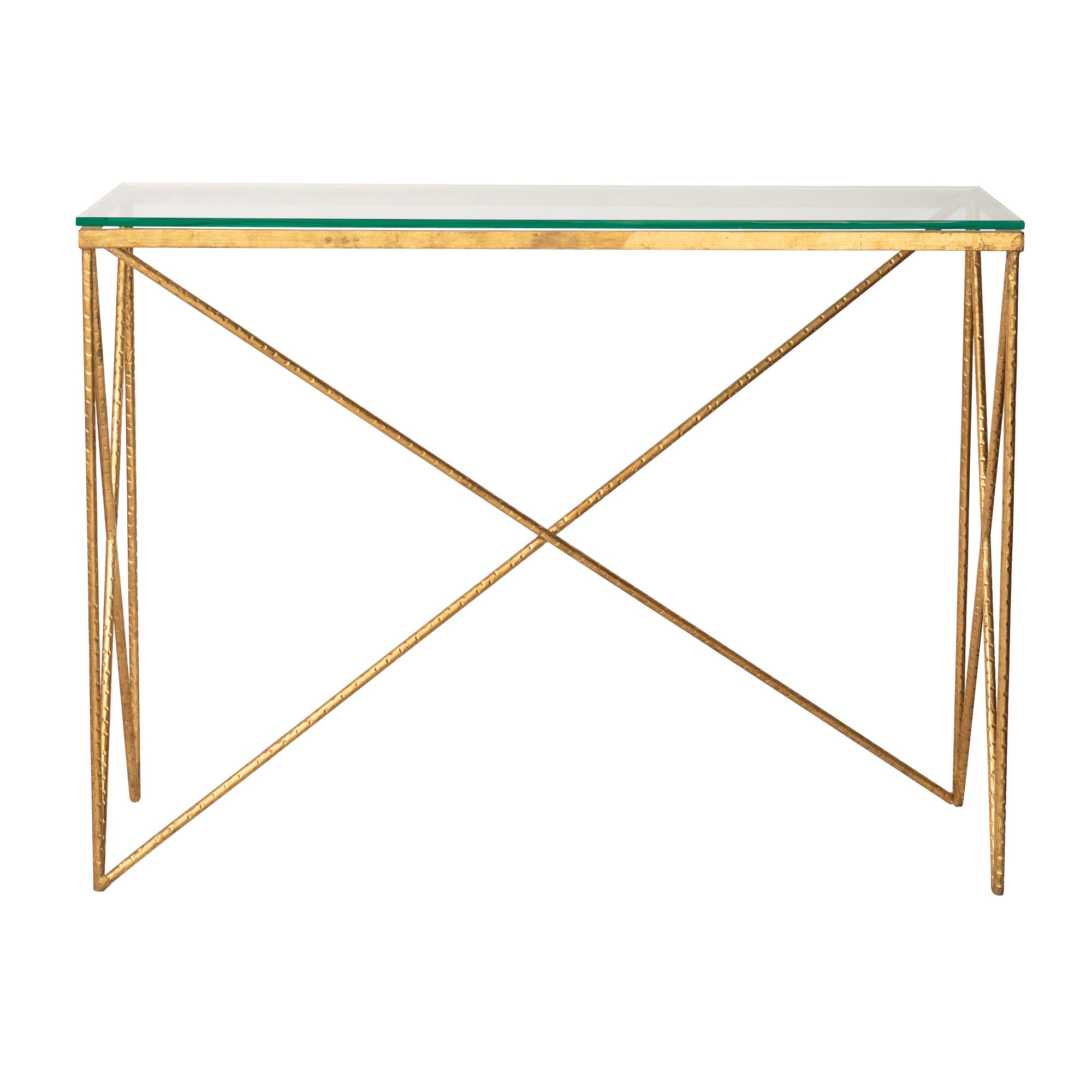 Gold Luxe Console Table