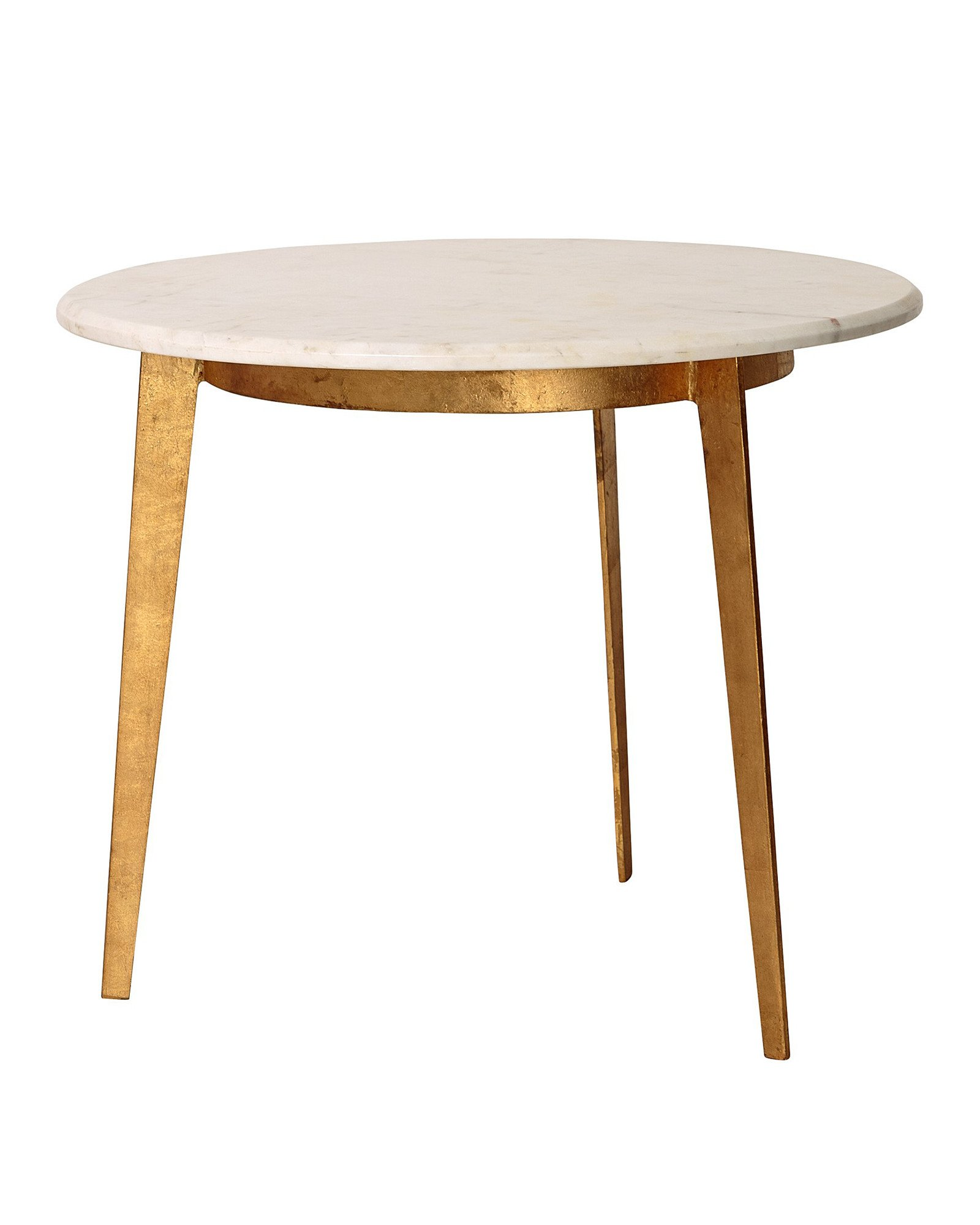 Picture of: Luxe Round Side Table Oliver Bonas