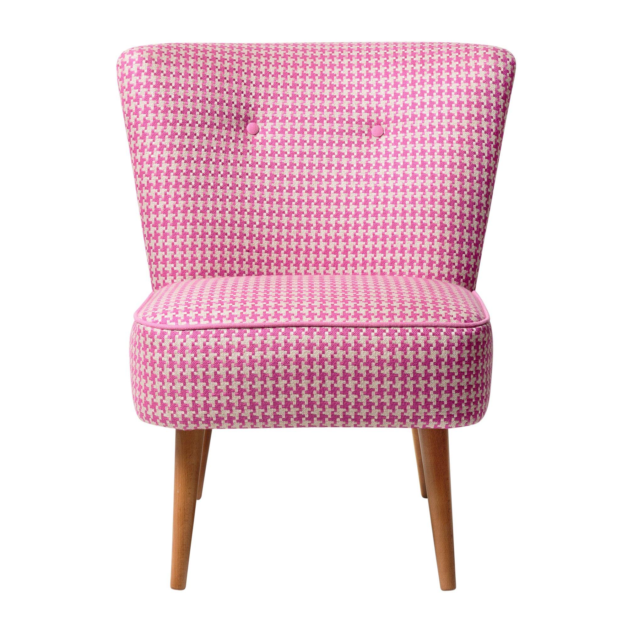 Fuchsia Le Cocktail Chair Oliver Bonas