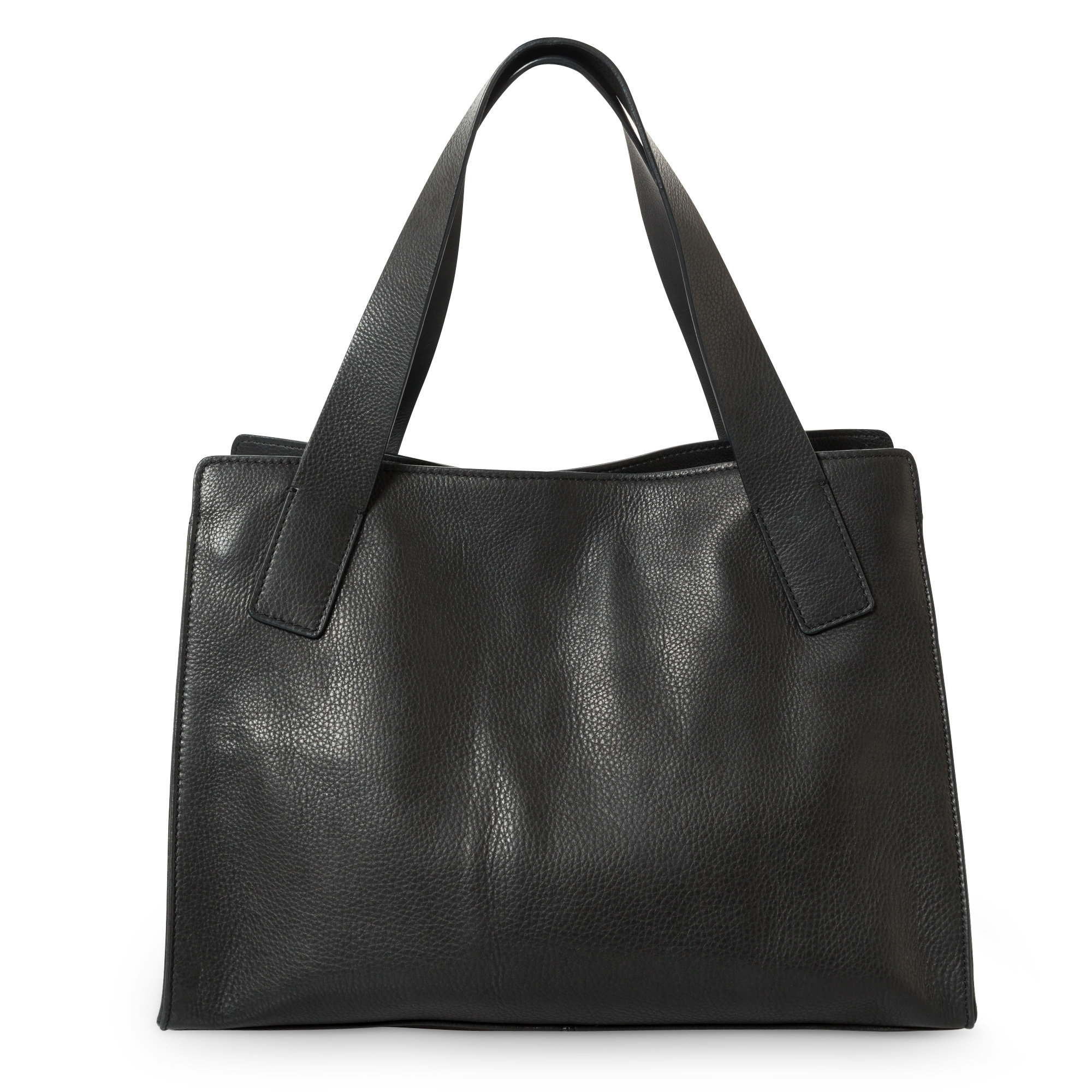 Silver leather tote bag uk - Esme Medium Leather Tote Bag
