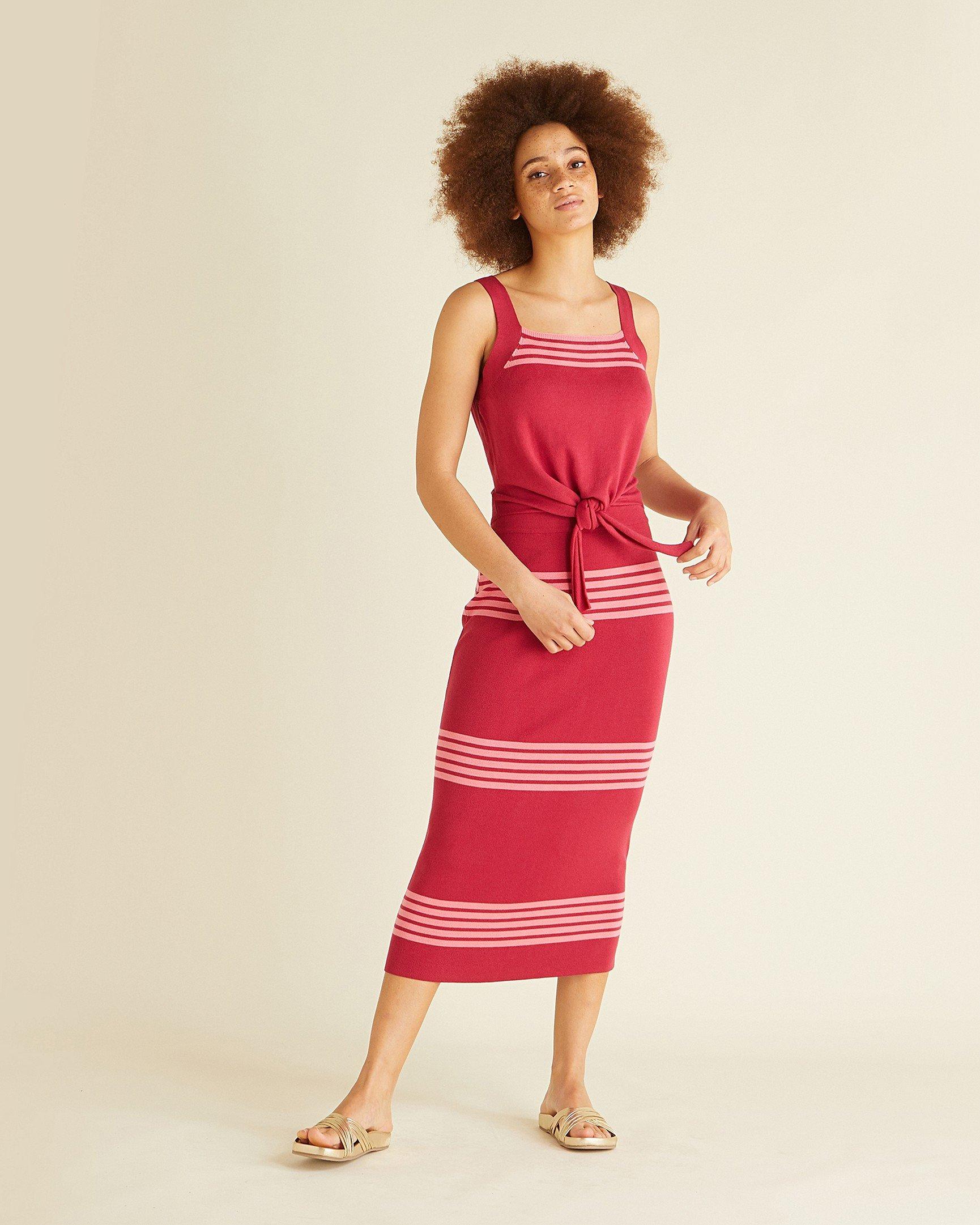adf751269b8 Box Pleat Midi Skirt Yellow - Gomes Weine AG