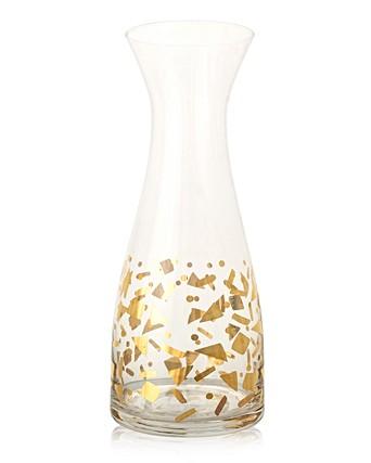 Gold Confetti Carafe Oliver Bonas