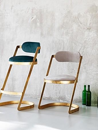 Luxe Velvet Chair Oliver Bonas