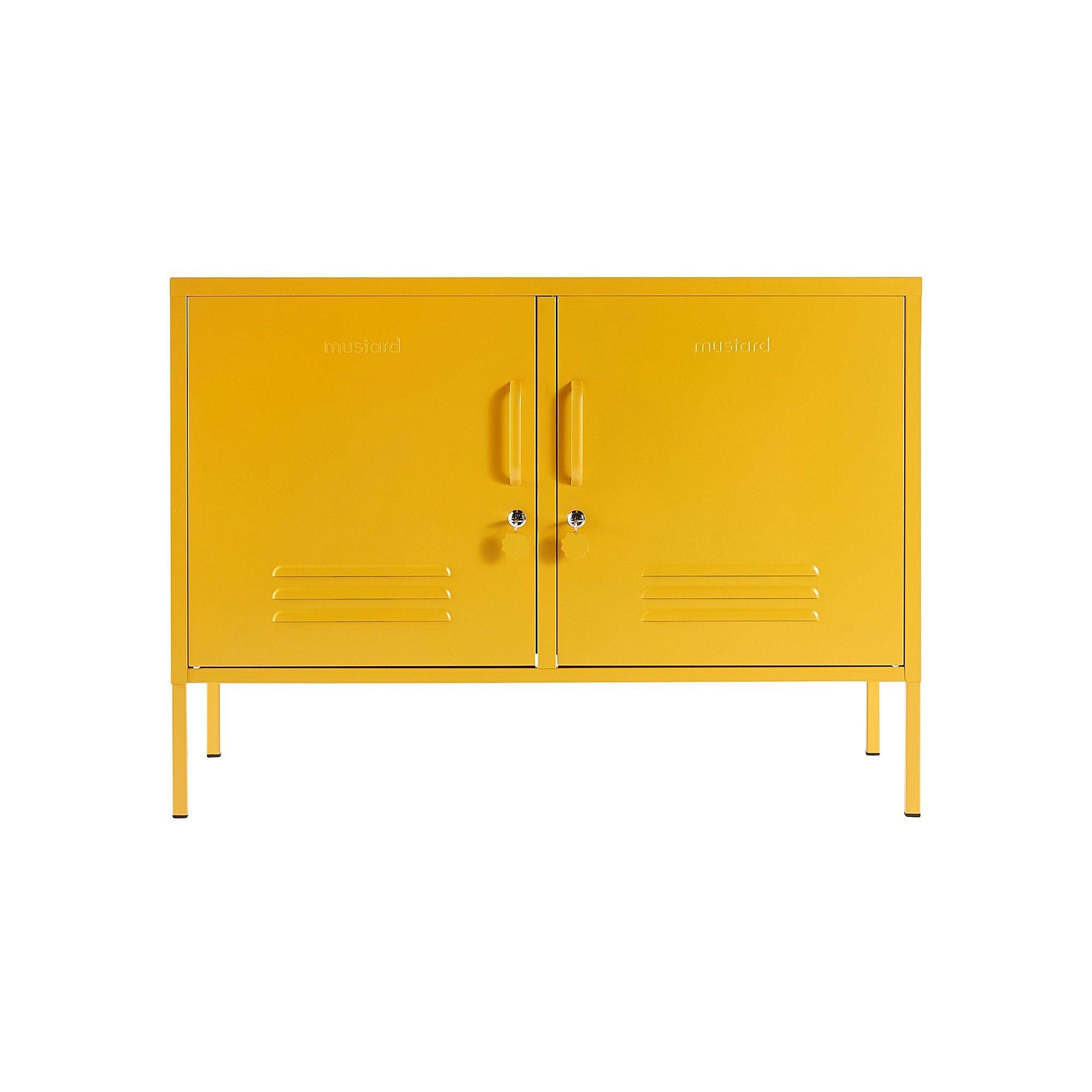 Mustard Made Lowdown Yellow Storage Locker