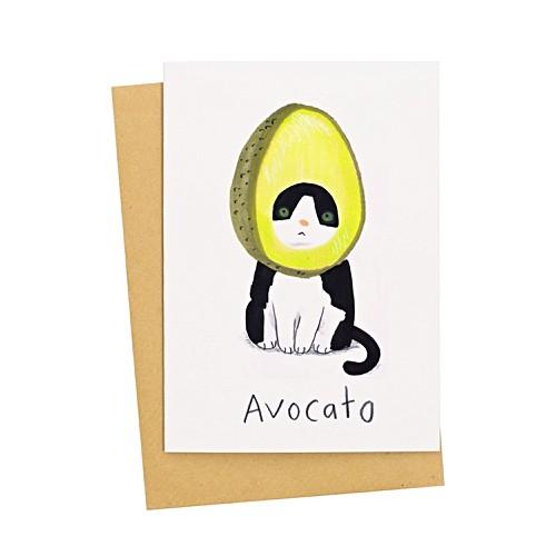 Avocato Card by Olivar Bonas