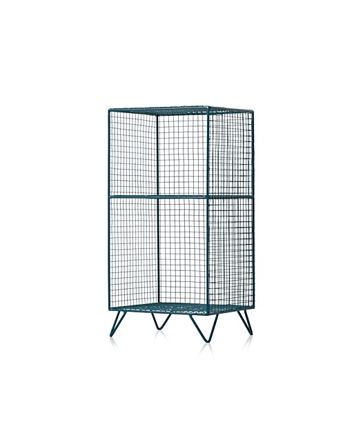 Grid Two Shelf Storage Unit Oliver Bonas
