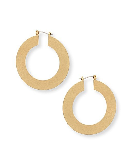 1d30c0c98b006 Tansy Textured Hoop Earrings