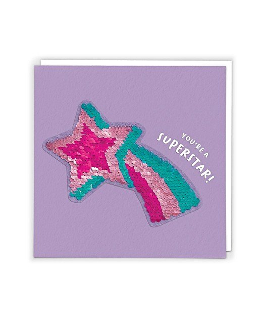 the latest b71bb 0ae04 You re A Superstar Reversible Sequin Card