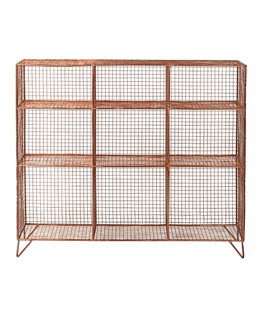 Grid Nine Shelf Storage Unit Oliver Bonas