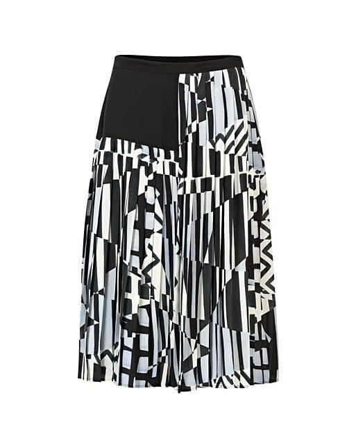 8eaa8e332 Diverse Print Pleated Midi Skirt | Oliver Bonas