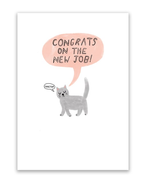 new job traitor new job card  oliver bonas ie