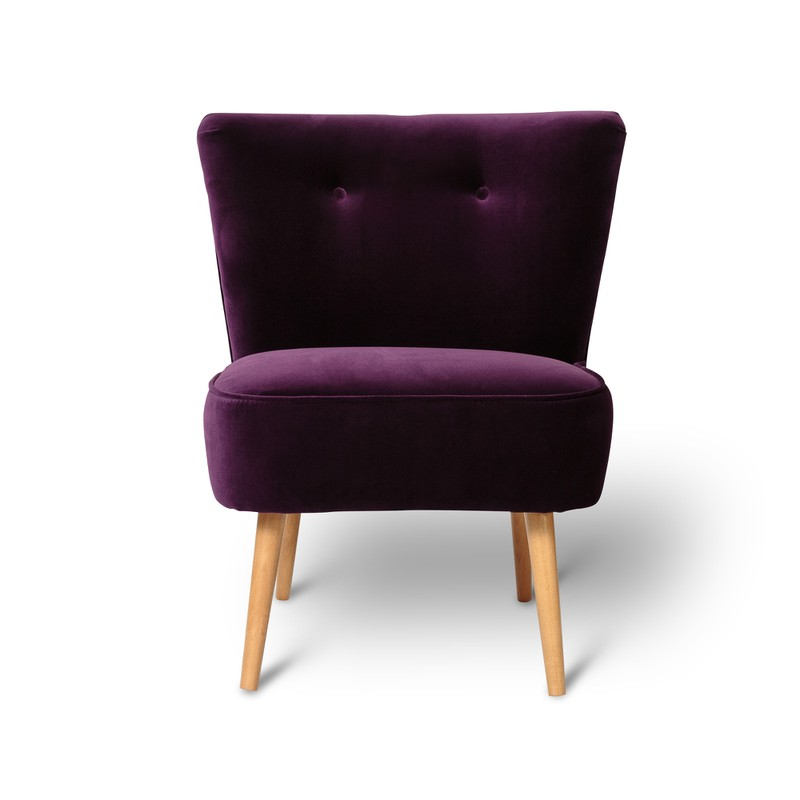 Oliver Bonas Le Cocktail Velvet Chair