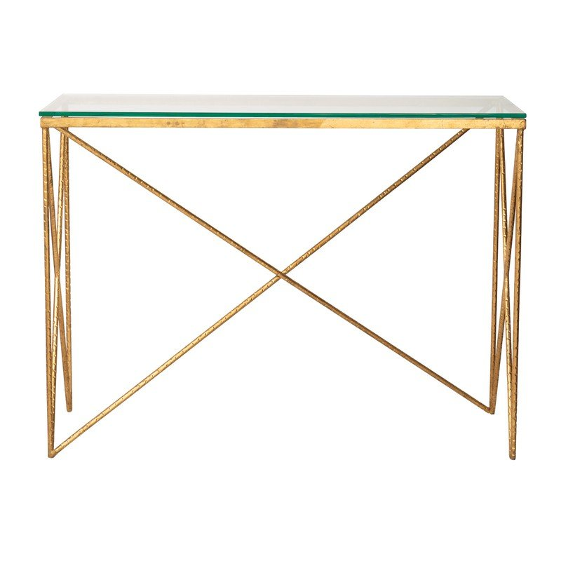 Oliver Bonas Luxe Console Table