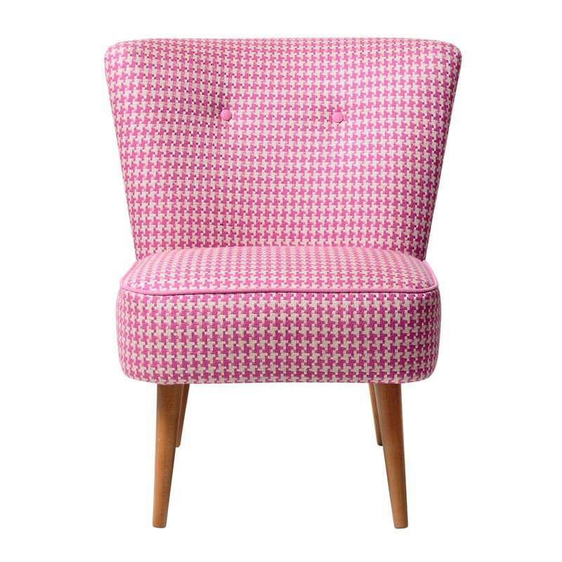 Oliver Bonas Le Cocktail Chair, Red