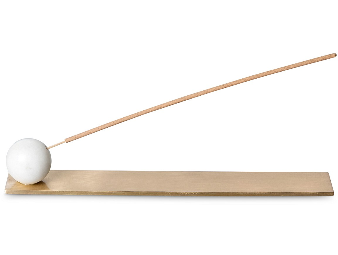 Marble Ball Incense Holder