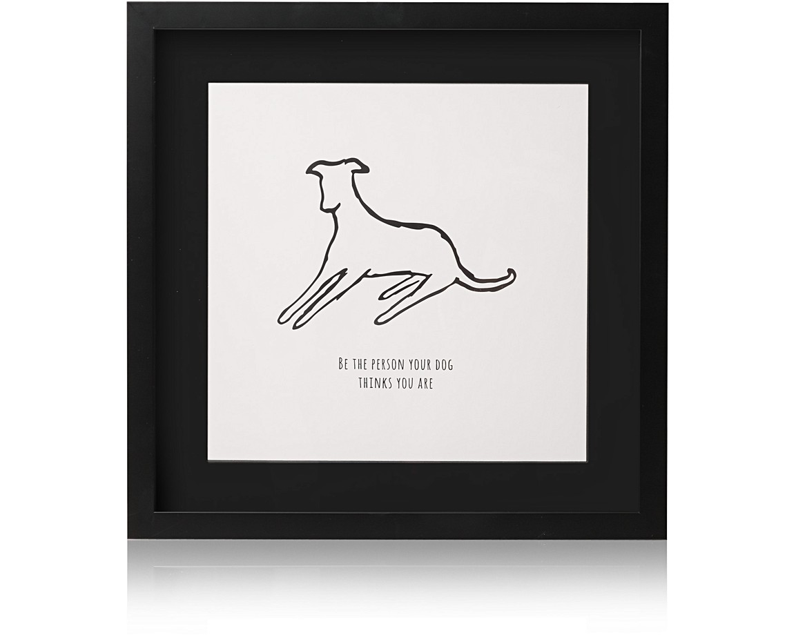 Dog Person Wall Art