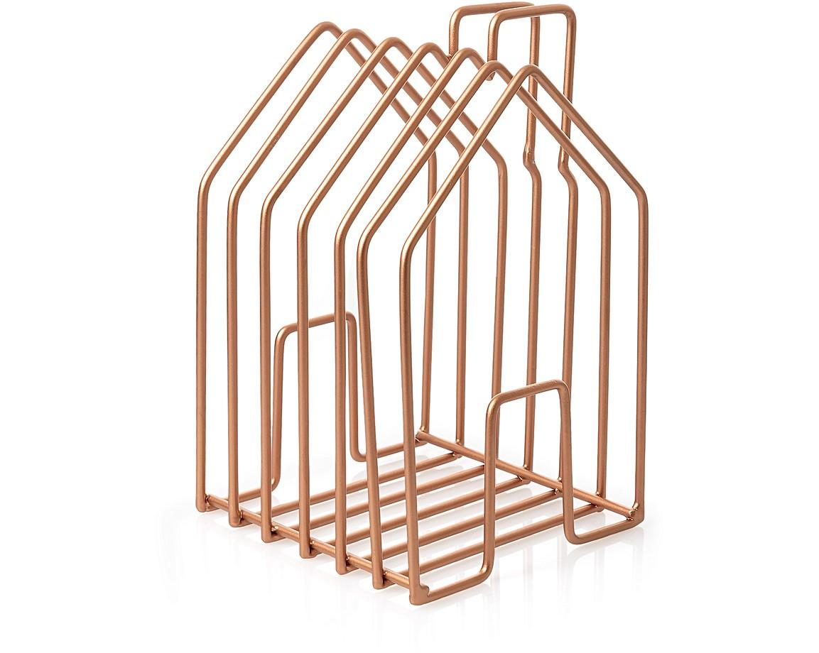 Wire House Magazine Rack | Oliver Bonas