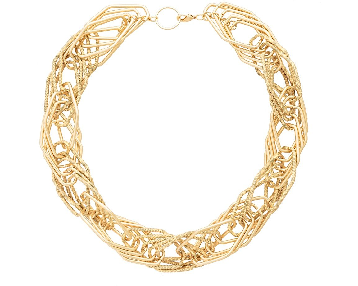 curb buyibb gold rsp necklace online com pdp main johnlewis ibb yellow twist chain john at