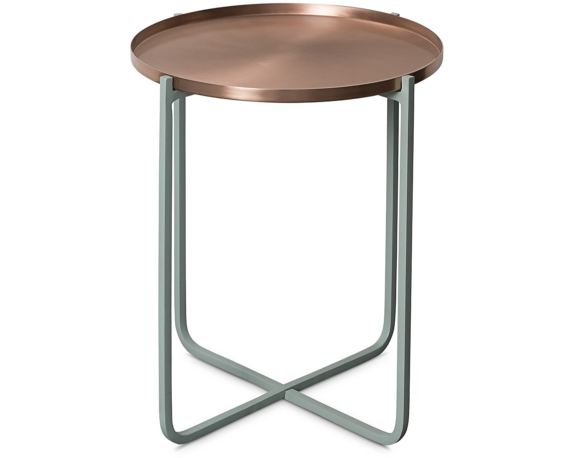 Superior Iggy Metal Tray Side Table