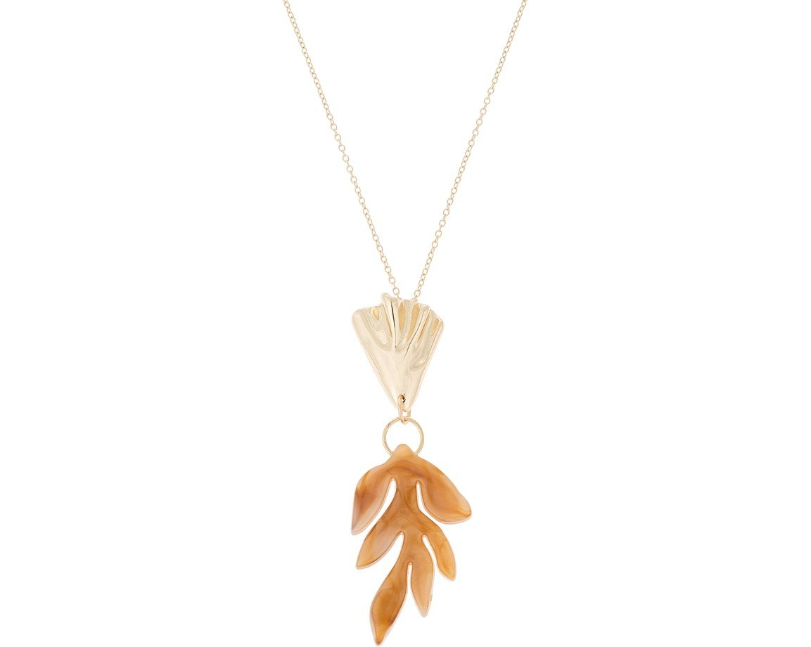 leaf silver natural sterling maple pendant us metalsmiths products